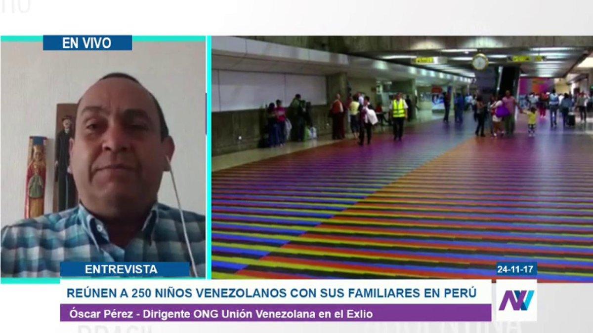 Óscar Pérez: Lo más importante en moment...
