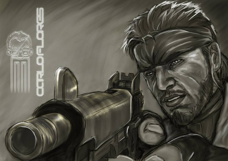 Carlo Flores On Twitter Metal Gear Solid Snake Fan Art