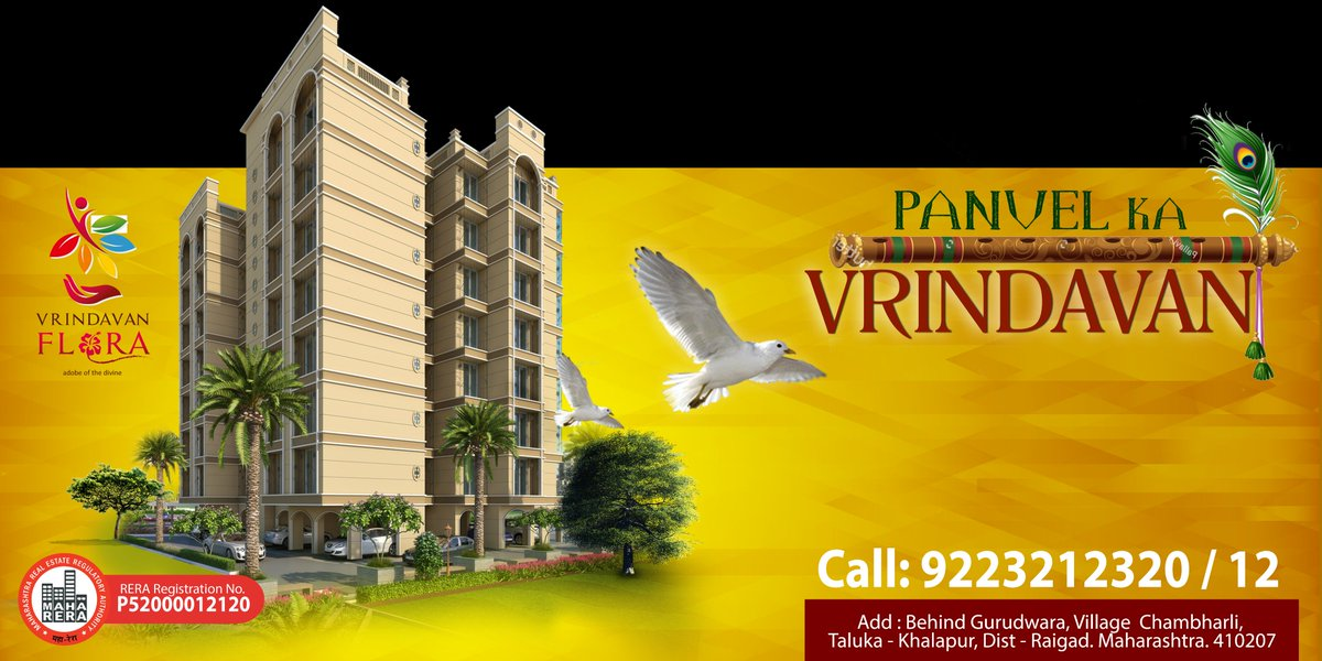 what would be more fascinating than owning a dream home? Come and experience the dream came true only with vrindavan flora!  #vrindavanflora #1BHK #2BHK #Affordable #Luxurious #Flats #homes #in #panvel #NaviMumbai #Modern #Amenities #clubhouse #children #play #Garden #marketing<br>http://pic.twitter.com/vEMxgrCFpy