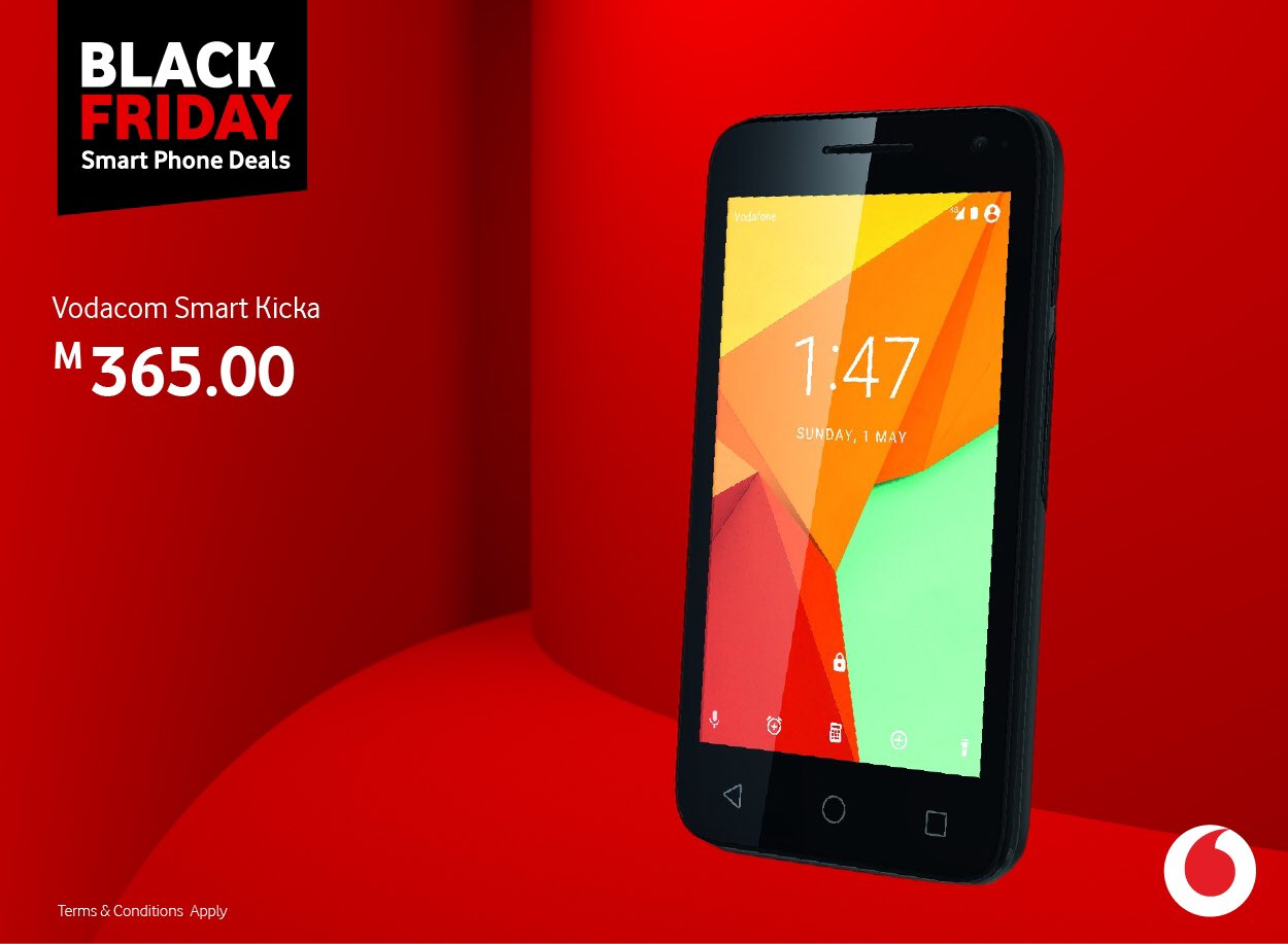 Vodacom Lesotho On Twitter Vclblackfriday Available At Our Stores Enjoy Today S 25 Discount On This And Other Smartphones Blackfridaydeals