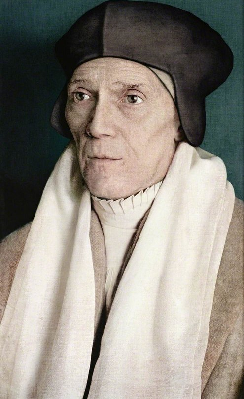 24 Nov 1504: St. Cardinal John Fisher consecrated Bishop of #Rochester #otd (StJohn&#39;sCollCambridge by Paul Hodgson) Executed 22 June 1535 having refused the Supremacy.<br>http://pic.twitter.com/GP4v43rgxI