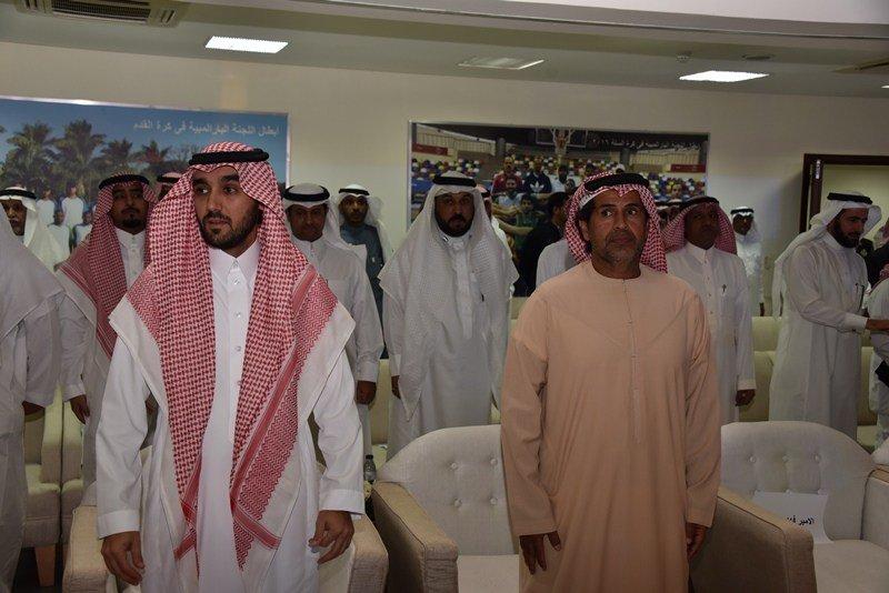 نائب رئيس مجلس إدارة هيئة الرياضة يفتتح...
