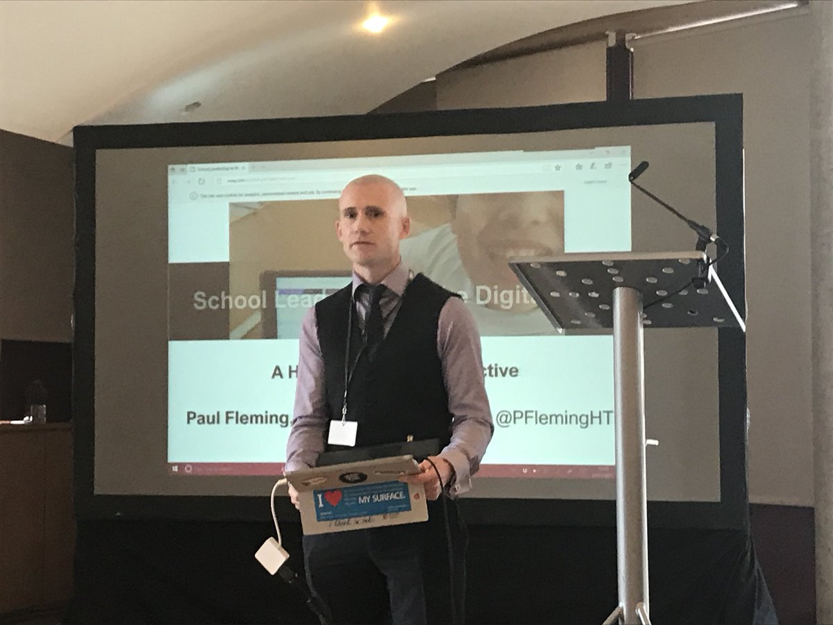 Inspiring talk from @PFlemingHT leading #digital #culture #transformation at the wonderful @Kinneil_PS https://t.co/qS3P1cxdTt
