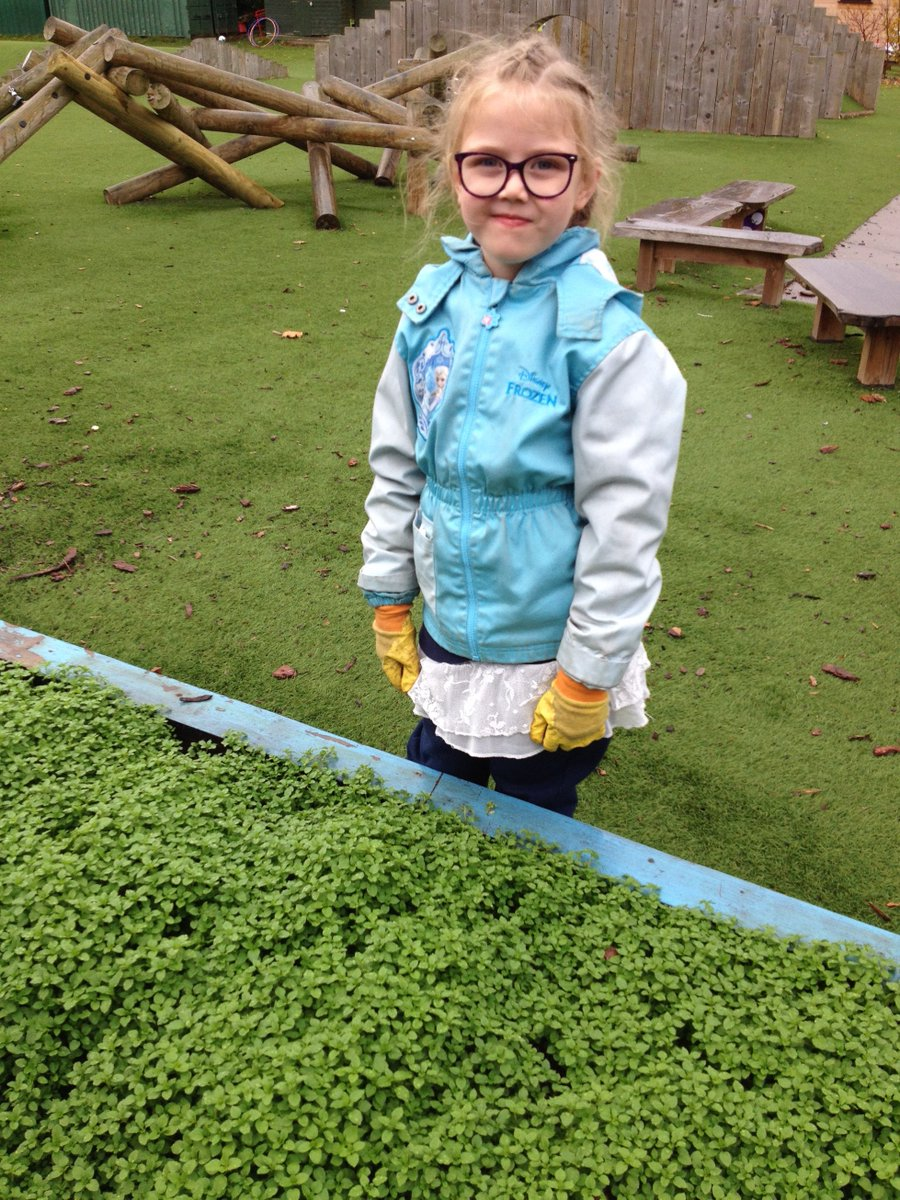 Our group at Wylde Green Primary braved the rain to weed one of the raised beds that will be turned into a mini forest garden. See full album!  http:// bit.ly/2zyd8XY  &nbsp;   #CET #ForestSchool #kids #ForestGarden<br>http://pic.twitter.com/jo7OFzAQEg