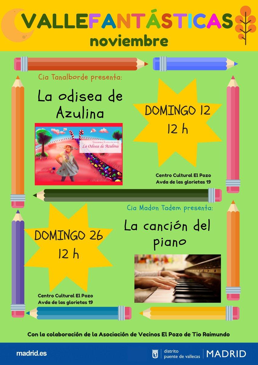 Puente De Vallecas On Twitter Disfruta De Las Programaciones De  ~ Planes Madrid Este Fin De Semana