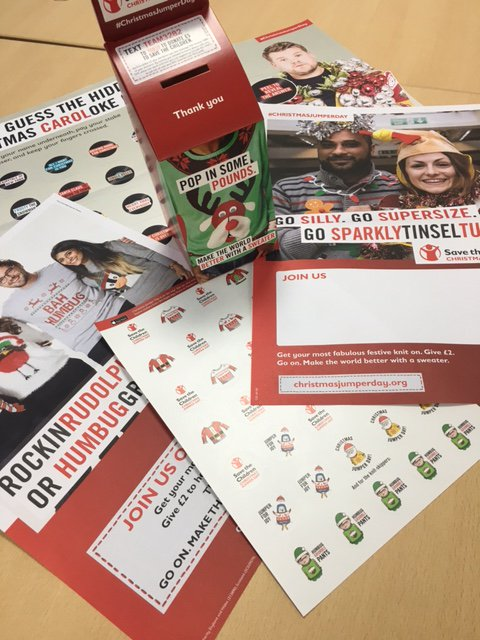 test Twitter Media - Our #Christmasjumperday pack has arrived! Looking forward to our festive day in aid of @savechildrenuk https://t.co/NOj8JRA9Kg