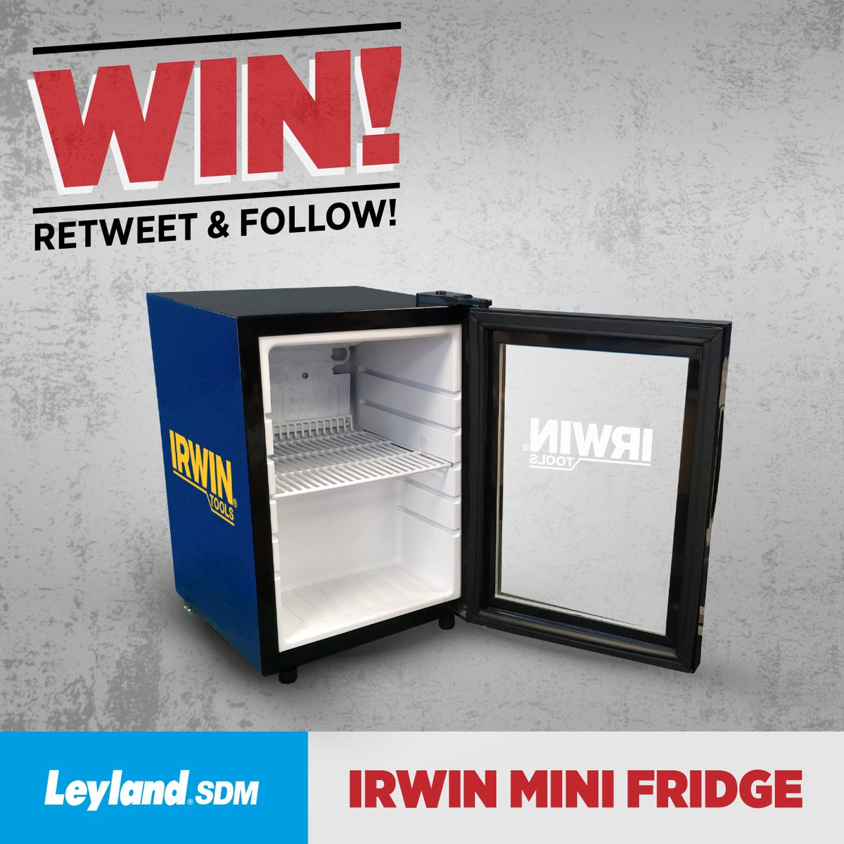 RT &amp; follow us for your chance to win this @IRWINtoolsUK mini fridge! Ends today at 5pm! #FreebieFriday #Giveaway #Win #RT #Prize #DIY #Tools #Xmas<br>http://pic.twitter.com/6Oj2TexRlM