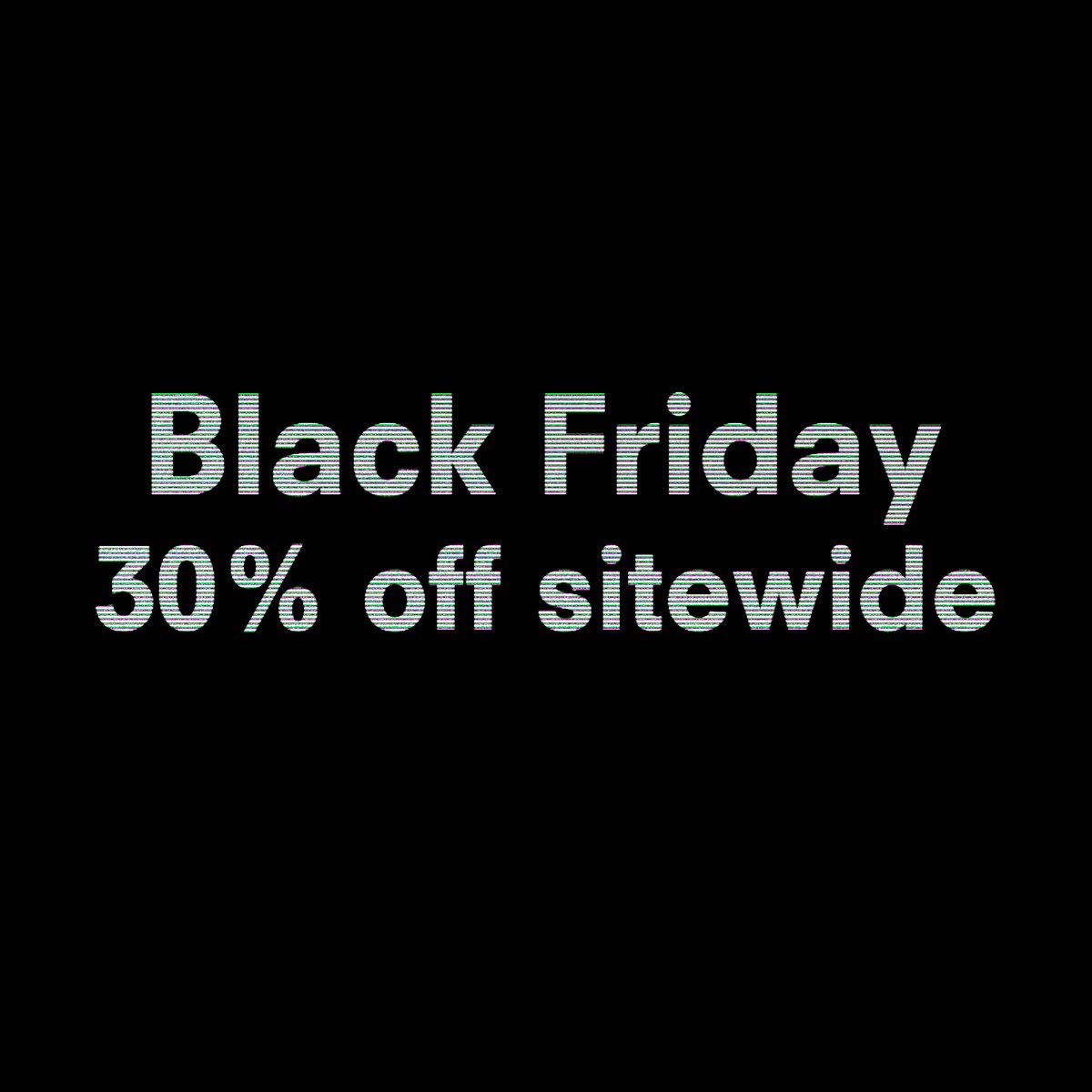 Black Friday! Enjoy 30% off sitewide and many more sales now on @rad #radshop #blackfriday https://t.co/4U8AqJb3IX https://t.co/wbuWH1gXB7