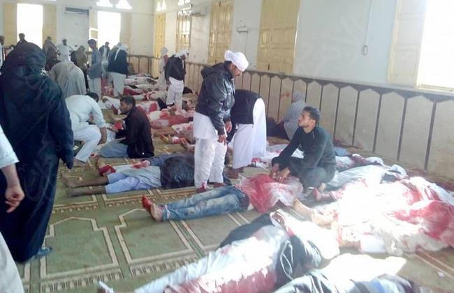 نتيجة بحث الصور عن تفجير مسجد الروضة