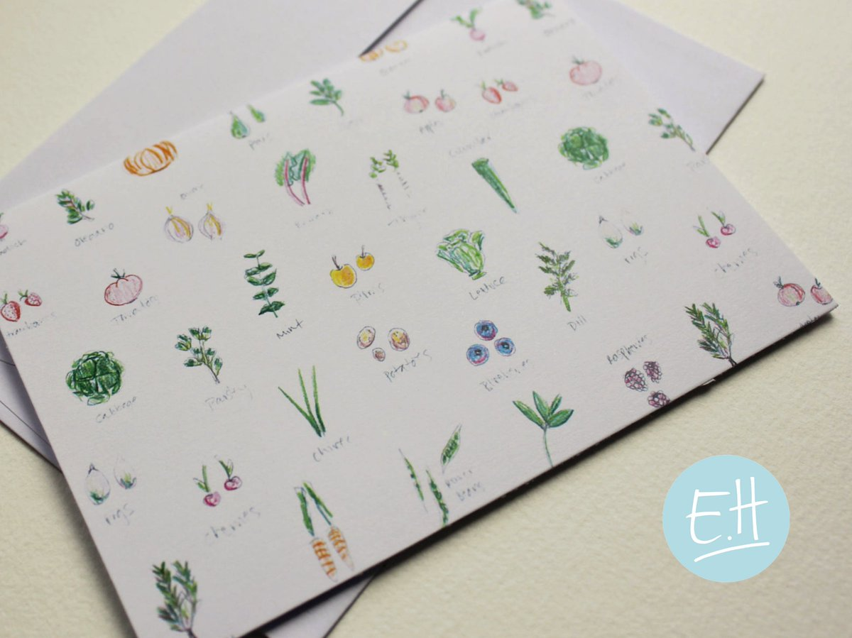 Are there any green fingered friends out there!? Get our vegetable print for a gardener you know at our @EtsyUK  shop.  #HHLunch #HandmadeHour #GardenersWorld  https://www. etsy.com/uk/shop/EllaHa rriott?ref=pr_shop_more&amp;from_reg=2&amp;joined=register-header&amp;box=1 &nbsp; … <br>http://pic.twitter.com/QgzSd5FA6w