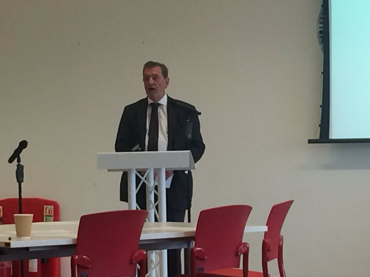 Privileged to hear the reflections of The Rt Hon. the Lord Blunkett on the importance of archives for uncovering and preserving the history of disability. @lborogeog @lbororesearch #Phdstudent #TakingStockLMA<br>http://pic.twitter.com/x3W3NAT1Vt