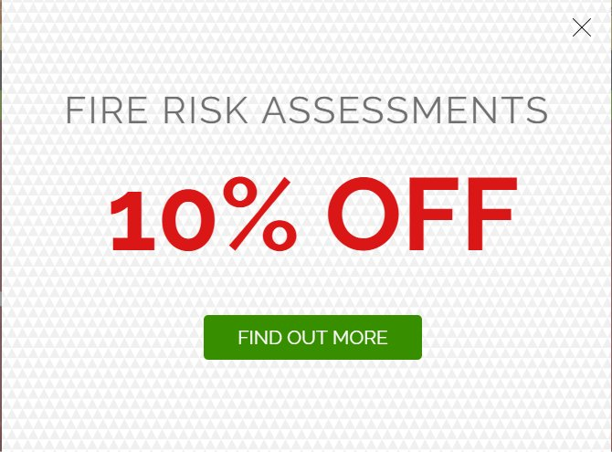 We are currently offering 10% OFF Fire Risk Assessments! Take a look at our website and contact us today!  https:// goo.gl/U3b3EA  &nbsp;   #discount #offer #FRA <br>http://pic.twitter.com/Am9AakGrxp