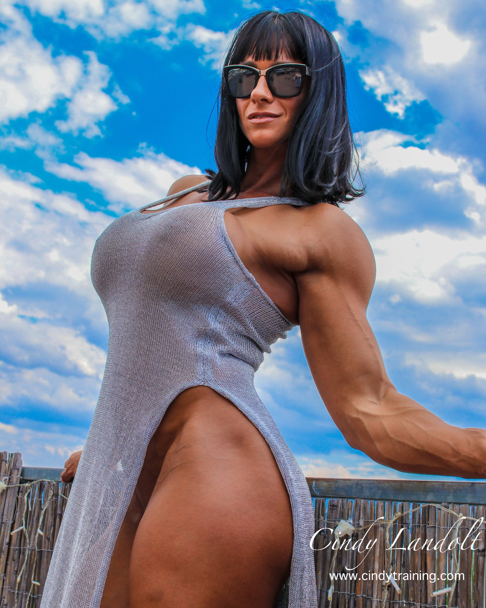 Free nude woman body builder picture the