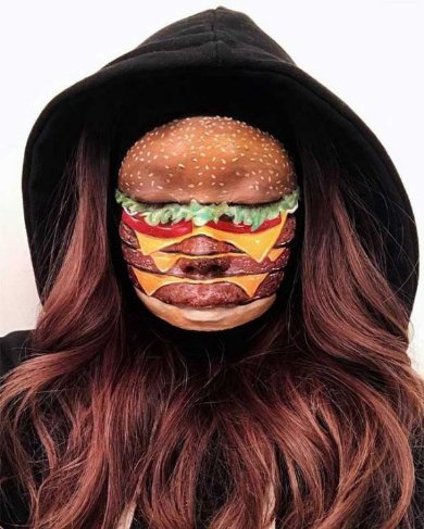 すげええええ  ハンバーガーがハンバーガーを食べる衝撃 リアルすぎるファストフー...