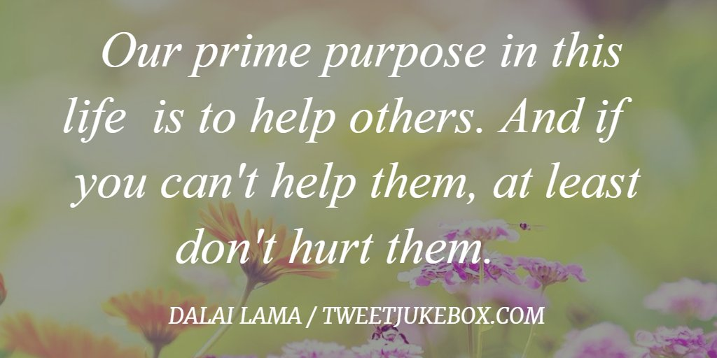 Our prime purpose in life is to... Dalai Lama #quote  #inspiration #findyourhappily<br>http://pic.twitter.com/bc0k19vzVV