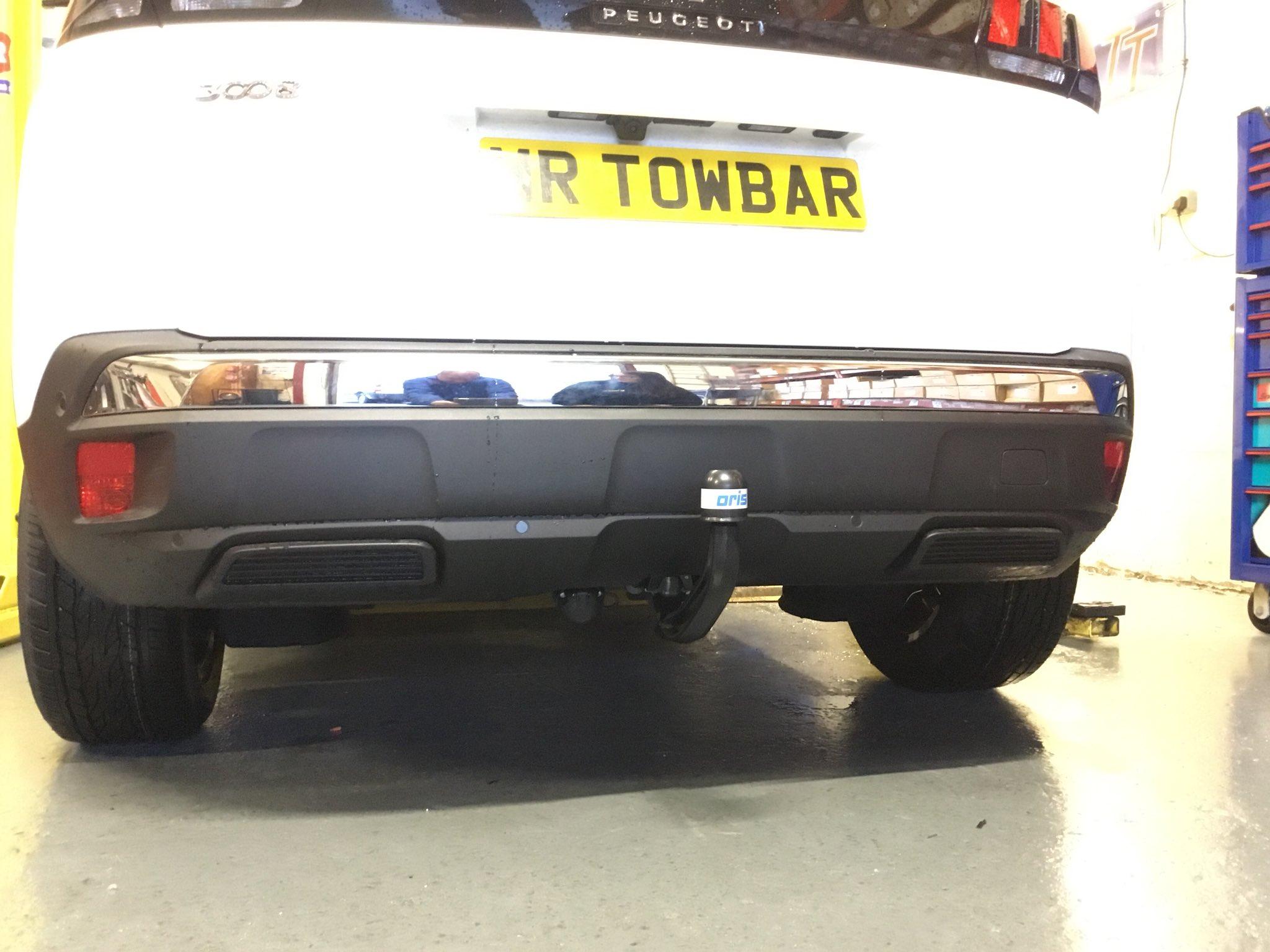 Peugeot 3008 Towbar 3008 to 2017 Tow Bar
