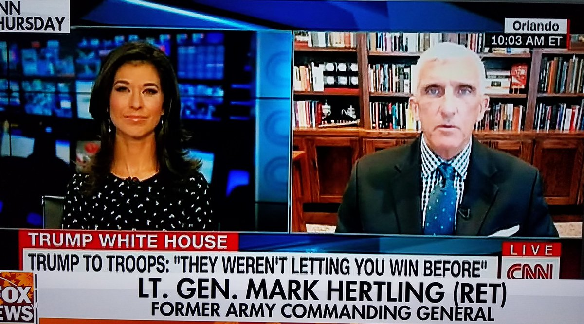 Leave it up to our good buddies at #FakeNewsCNN to trot out a fmr #Obama appointee to down play #Trumps Msg to the troops   Their ratings are lower than that of the #DCSwamp not good company to be on par with   #Trump addresses the #Troops   #GodBlessOurTroops   #BLKFRIDAY<br>http://pic.twitter.com/uOuCcwL7Gb