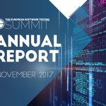 Image for the Tweet beginning: Check out #TestSummit Report 2017