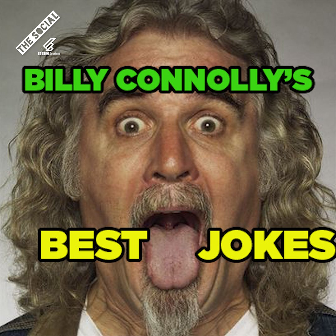 To celebrate Billy Connolly's birthday, the next generation serve up some of his best jokes. 😃  https://t.co/kmC6FWeuE9