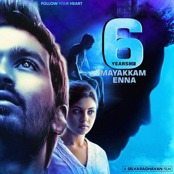 #6YearsOfMayakkamEnna Tomorrow #6years of mayakam enna movie.#inspiration. @dhanushkraja @selvaraghavan @richyricha<br>http://pic.twitter.com/WPAXul9Voy