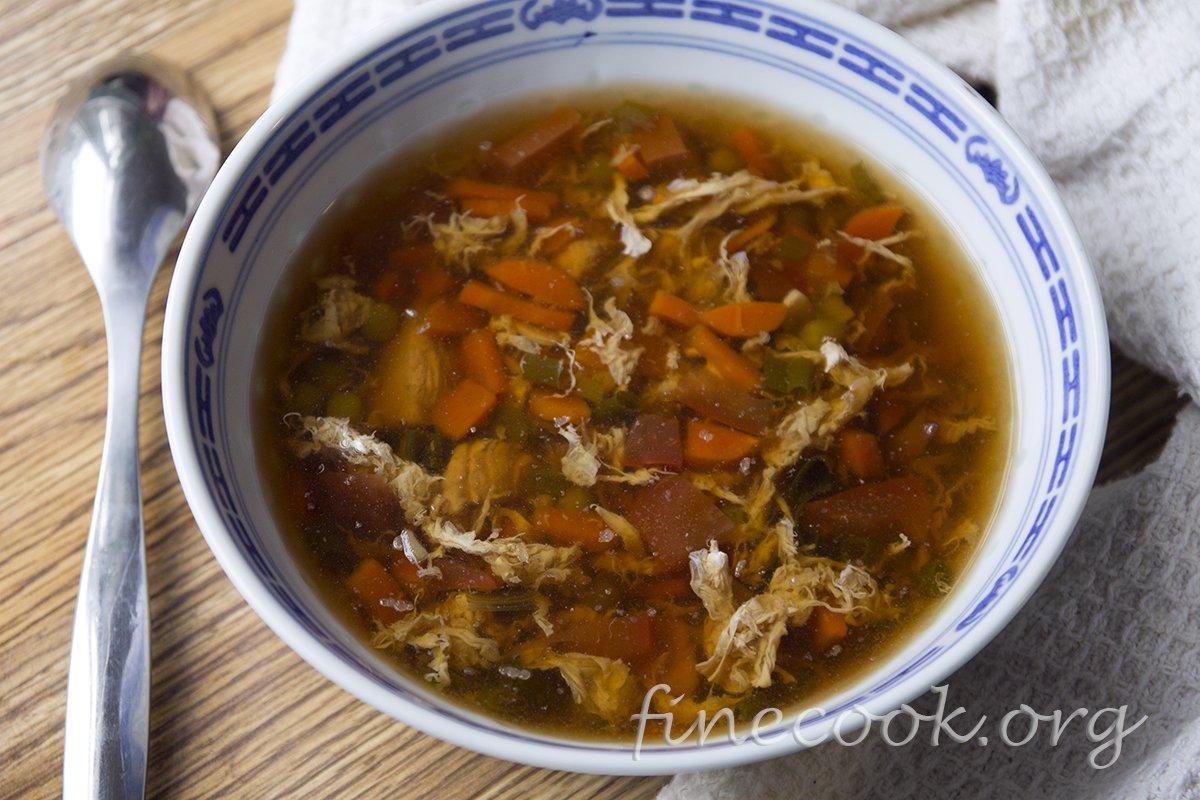 Рецепт китайского острого супа