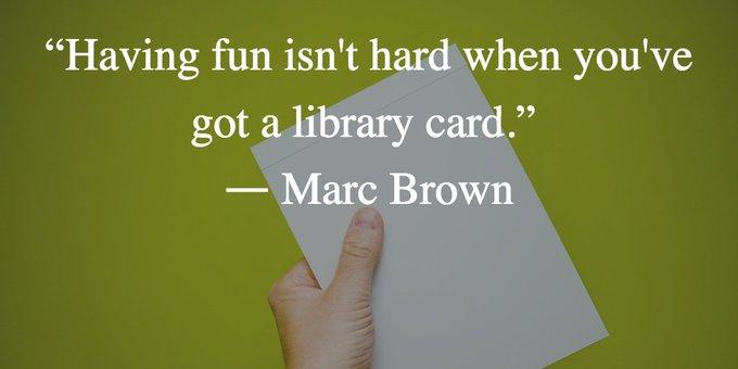 Nov 25th Happy Birthday Marc Brown!