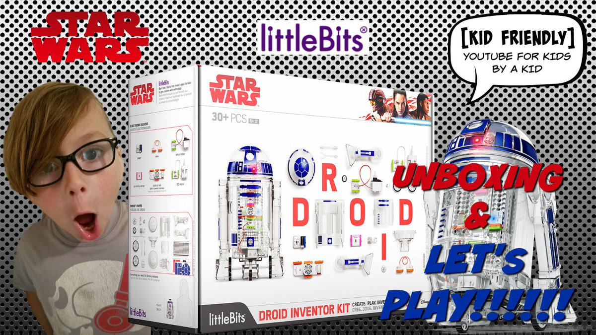 All new! My #Littlebits Droid Inventor Kit #unboxing and #review is up on YouTube! Check it out &gt;&gt;&gt;&gt;  http:// bit.ly/2hIpiSt  &nbsp;  <br>http://pic.twitter.com/rBboiv7ZVB