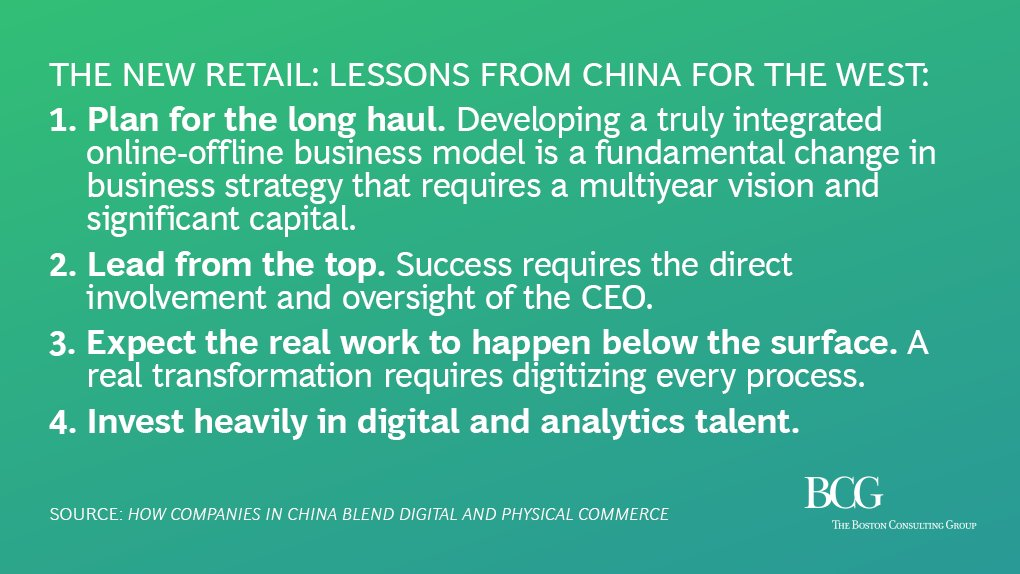 Companies in #China are developing fully integrated #digital and physical retail. How to get there from here:  http:// on.bcg.com/2hUULoy  &nbsp;  <br>http://pic.twitter.com/jr9gUJQzgf