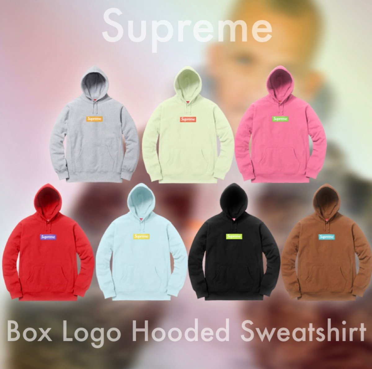 Supreme Fall Winter 2017 Box Logo Hoo Confirmed For December 14th In And Online You Ll Want To Grab The Dashbot These