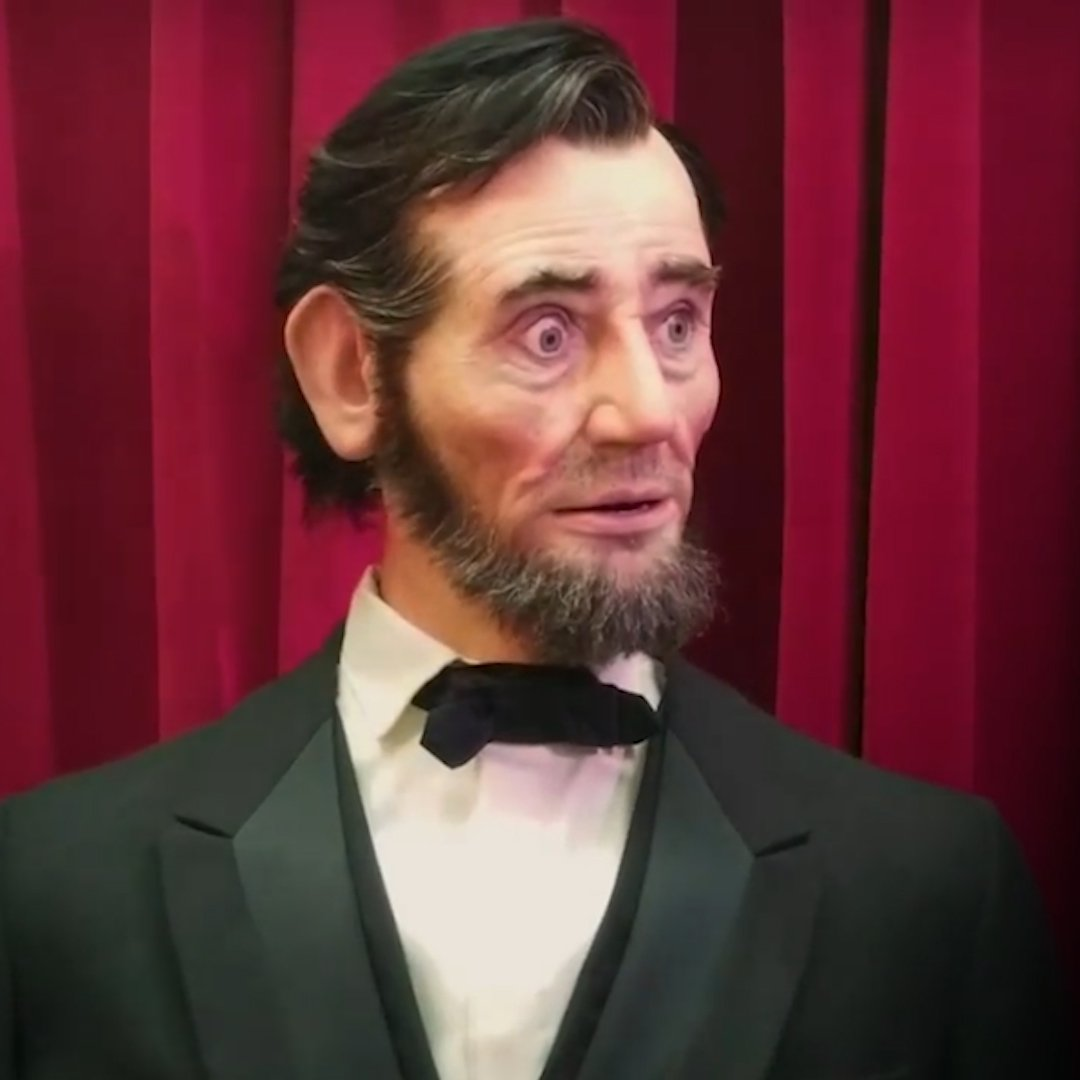 Cutting-edge animatronics have brought Abraham Lincoln to life