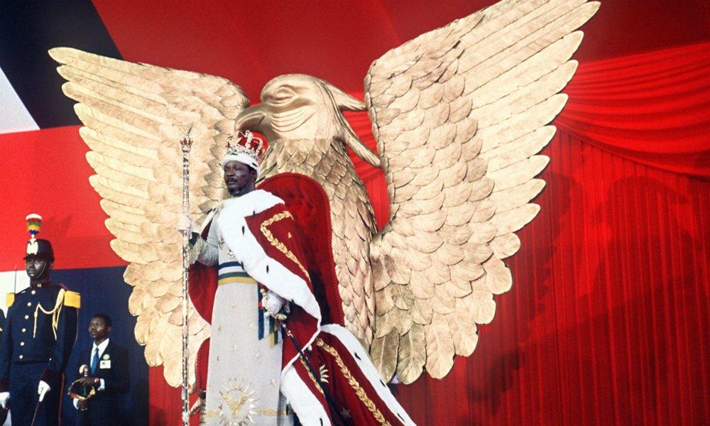 Ретро-фото: Коронация по-африкански