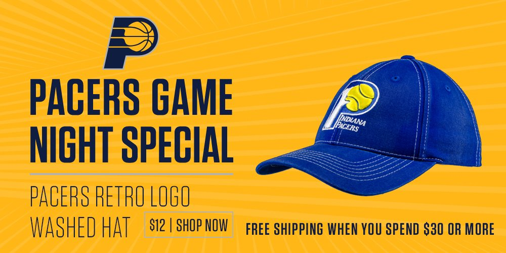0fa665980bd 01-12-2017 20 50 via Indiana Pacers  Pacers. 🚨 Game Night Special 🚨  12   Pacers hat ...