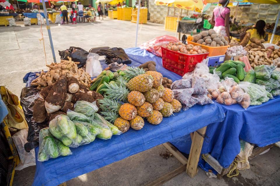 luca renda on twitter reopening of roseau market in dominica