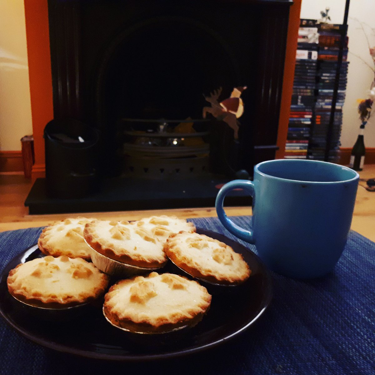 Mice Pies? Check! Hot Chocolate? Check!...