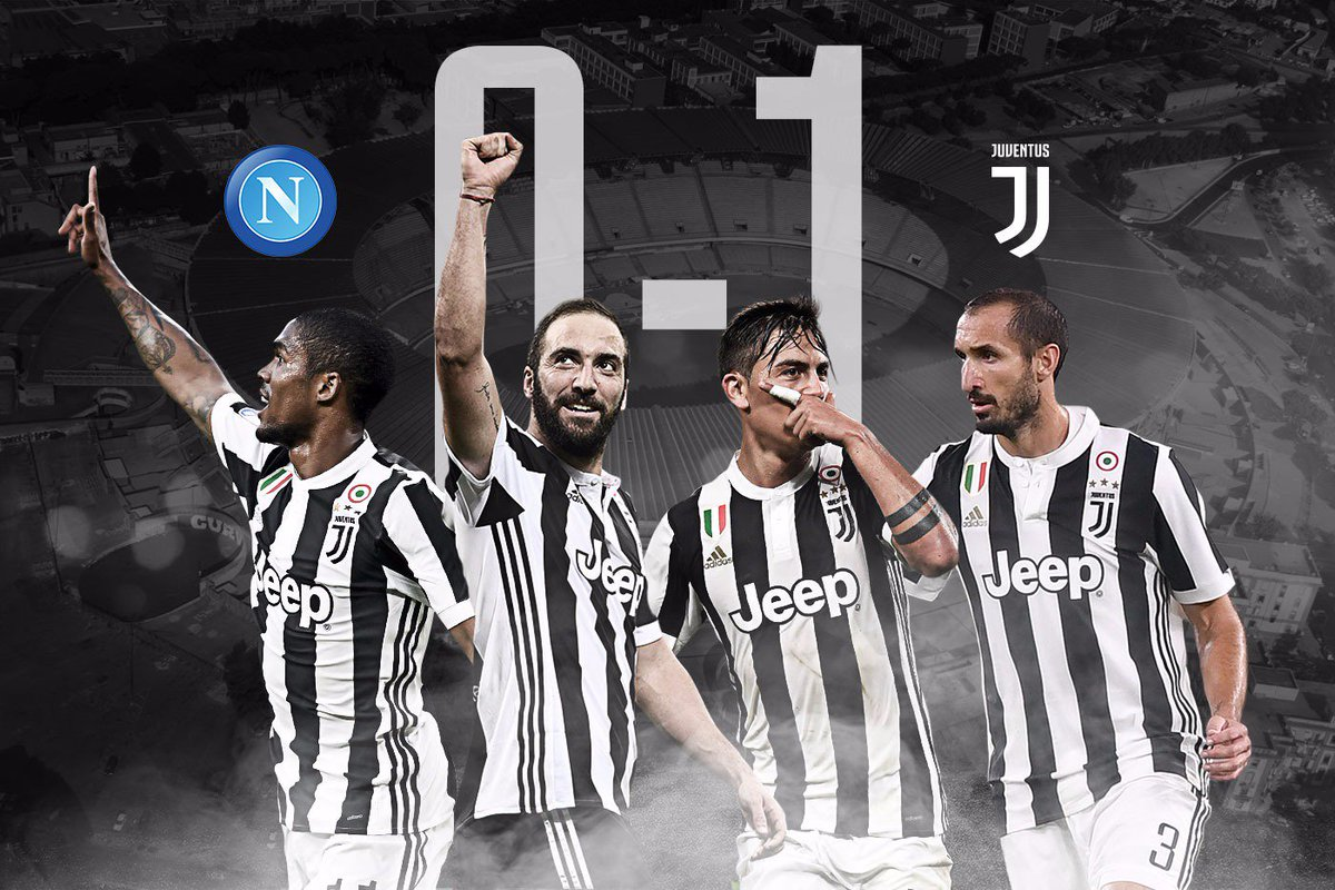 Skor akhir, Napoli 0 Juventus 1, kemenangan penting Bianconeri, via Twitter @juventusfcen