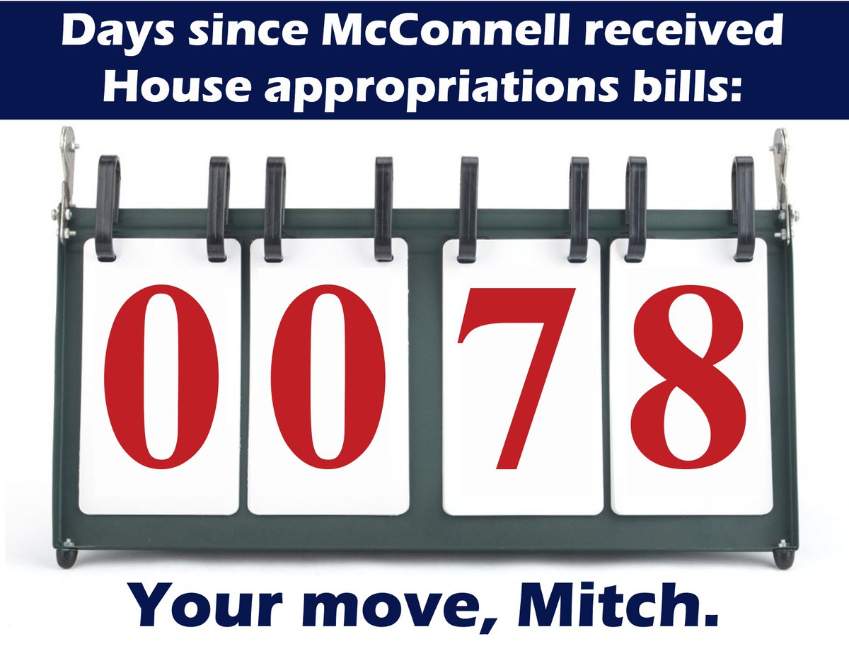 The House did what we told the American people we would do—we've funded the troops and held the line on non-defense spending. The Senate and @SenateMajLdr need to do the same. #YourMoveMitch