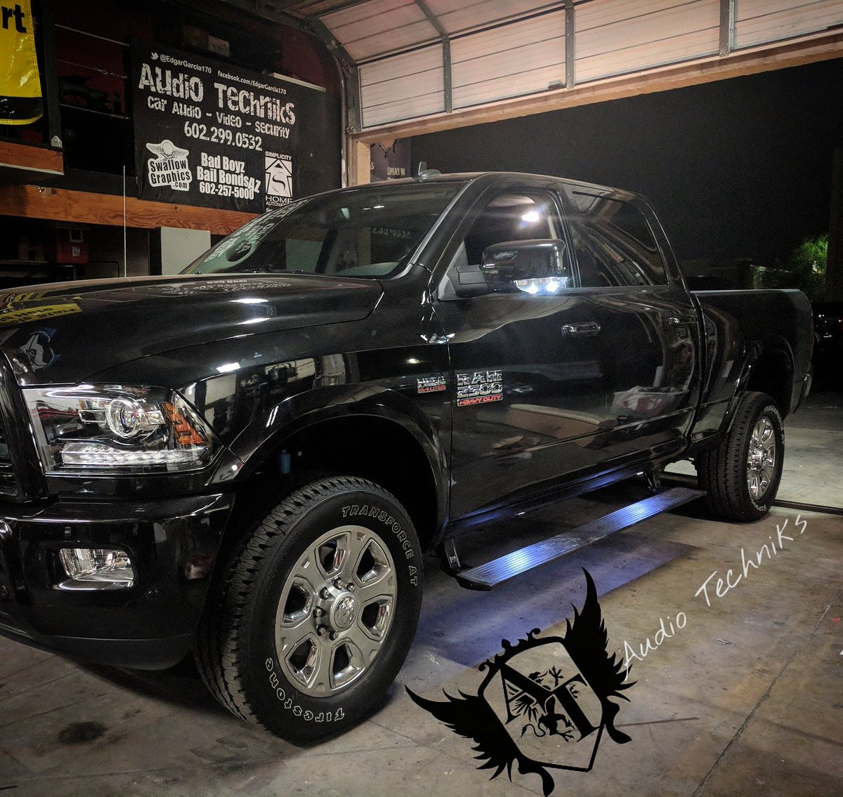 Audio Techniks On Twitter Amp Research Steps A 2018 Dodge Ram 2500 Ask Is About Our Christmas Special Dodgeram