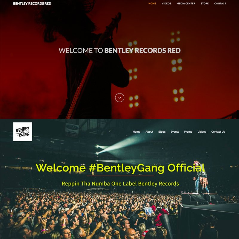 Two brand new platforms for all the #BentleyGang fans to stay up-to-date  with all the latest content & news from our artists are  LIVE NOW! @BentleyMusicRED & @BentleyGang101 http://www.BentleyGang.com http://www.BentleyRecordsRED.com #Music #Marketing #BentleyRecordsRED #Retweet #Promo #RT