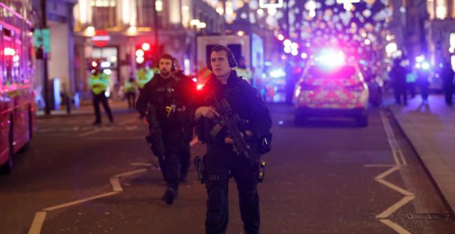 No terrorist attack at Oxford Circus - false alarm