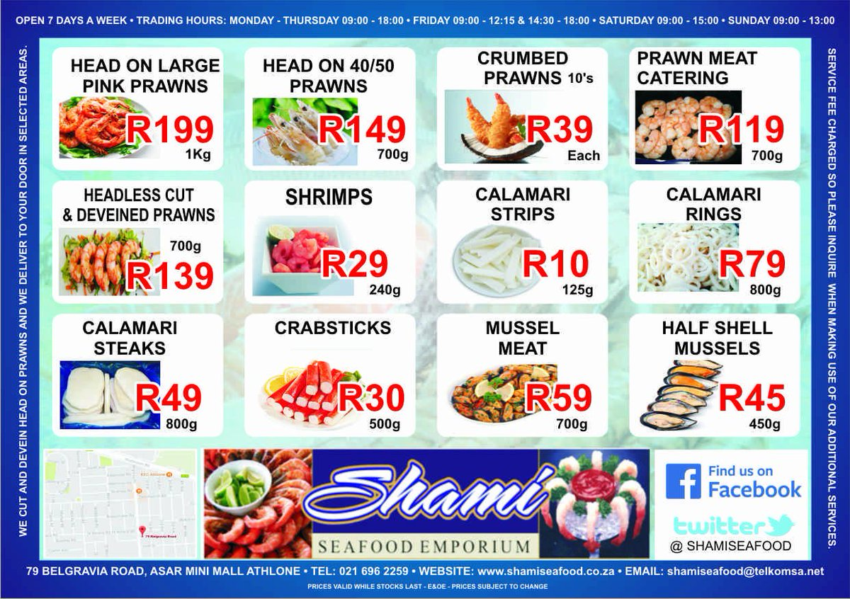 Shami Seafood Emporium on Twitter: