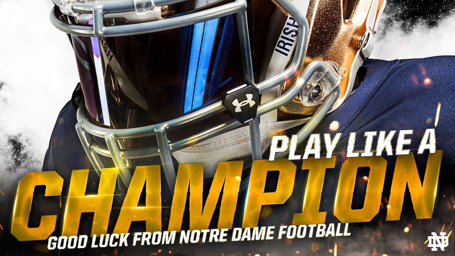 Notre Dame Football On Twitter Play Like A Champion Good