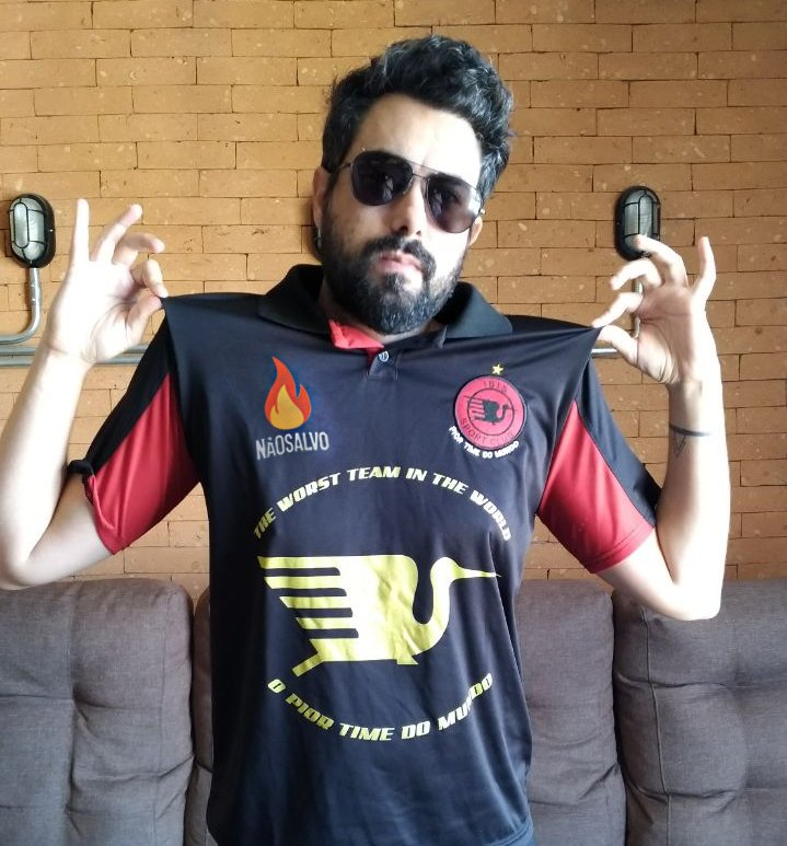 Devido as novas parcerias da internet com o mundo esportivo, o @naosalvo tem orgulho em anunciar seu patrocínio oficializado ao Íbis Sport Club, do estado do Pernambuco, apelidado carinhosamente como o 'pior time do mundo'  Obrigado pela confiança @ibismania!