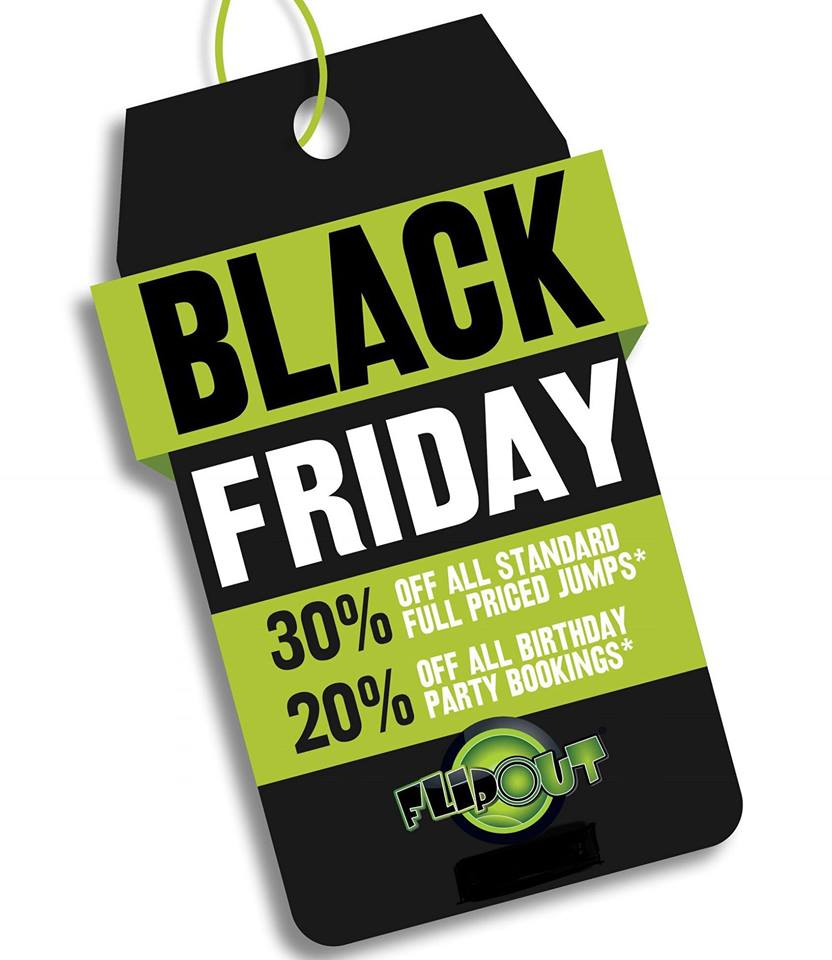 Flip Out Preston On Twitter Don T Forget Our Black Friday Offer Available For This Weekend Only 30 Off Standard Jumps Purchase Your Jump Now At Https T Co Xqiwzvjjpn Use The Code Blackfri30 Online Offer