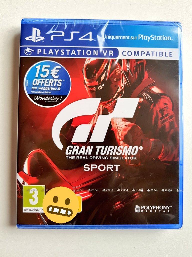 ???????? RT + Follow pour gagner une version boîte de #GTsport ! #Concours ⏰TAS 30/11 à 23h59 https://t.co/XO8hsrEQ11