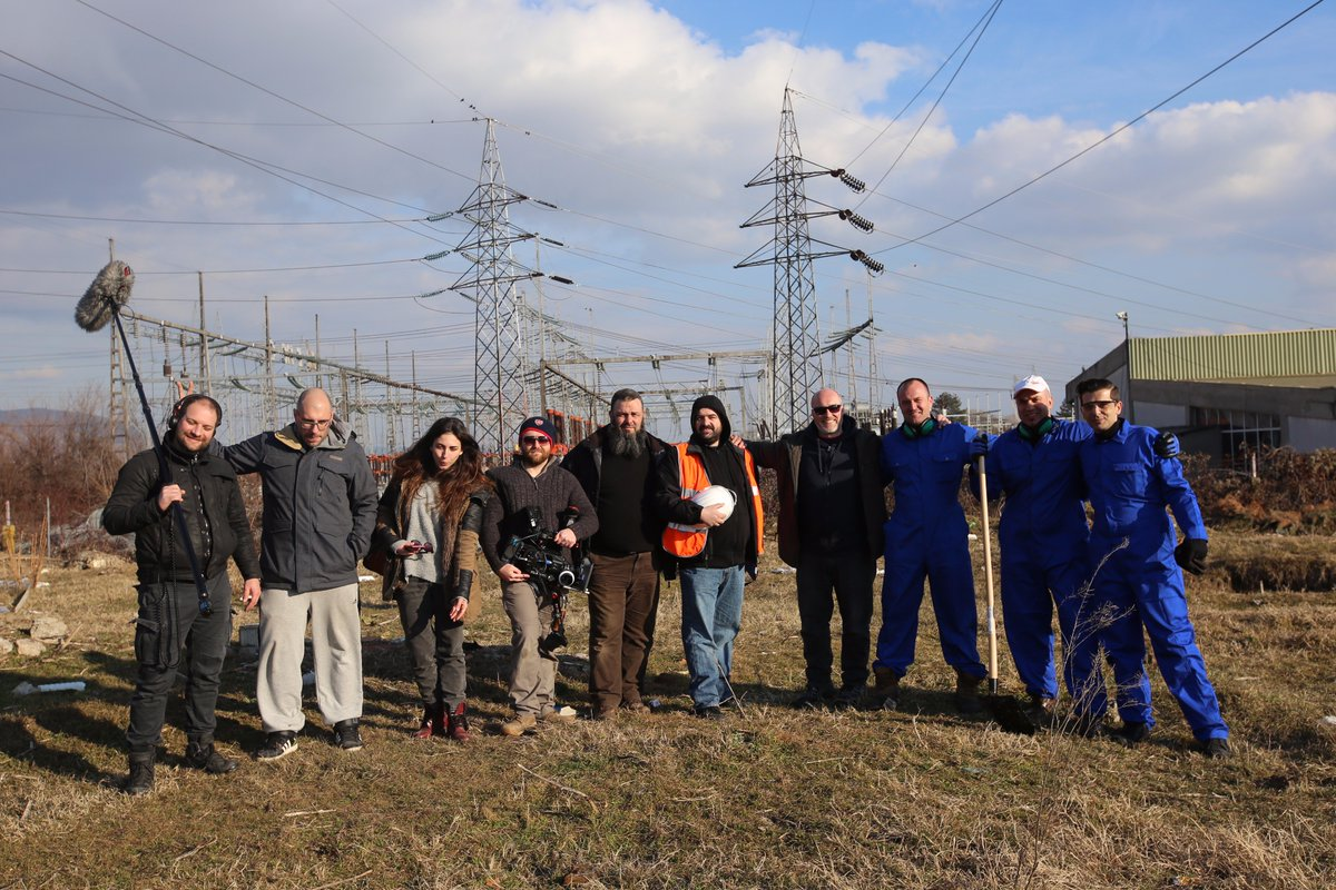 #FlashbackFriday brings us the talented cast and crew for our @Hostile_World #Training platform. A cold but clear day in Macedonia ... <br>http://pic.twitter.com/juEdOSKezo