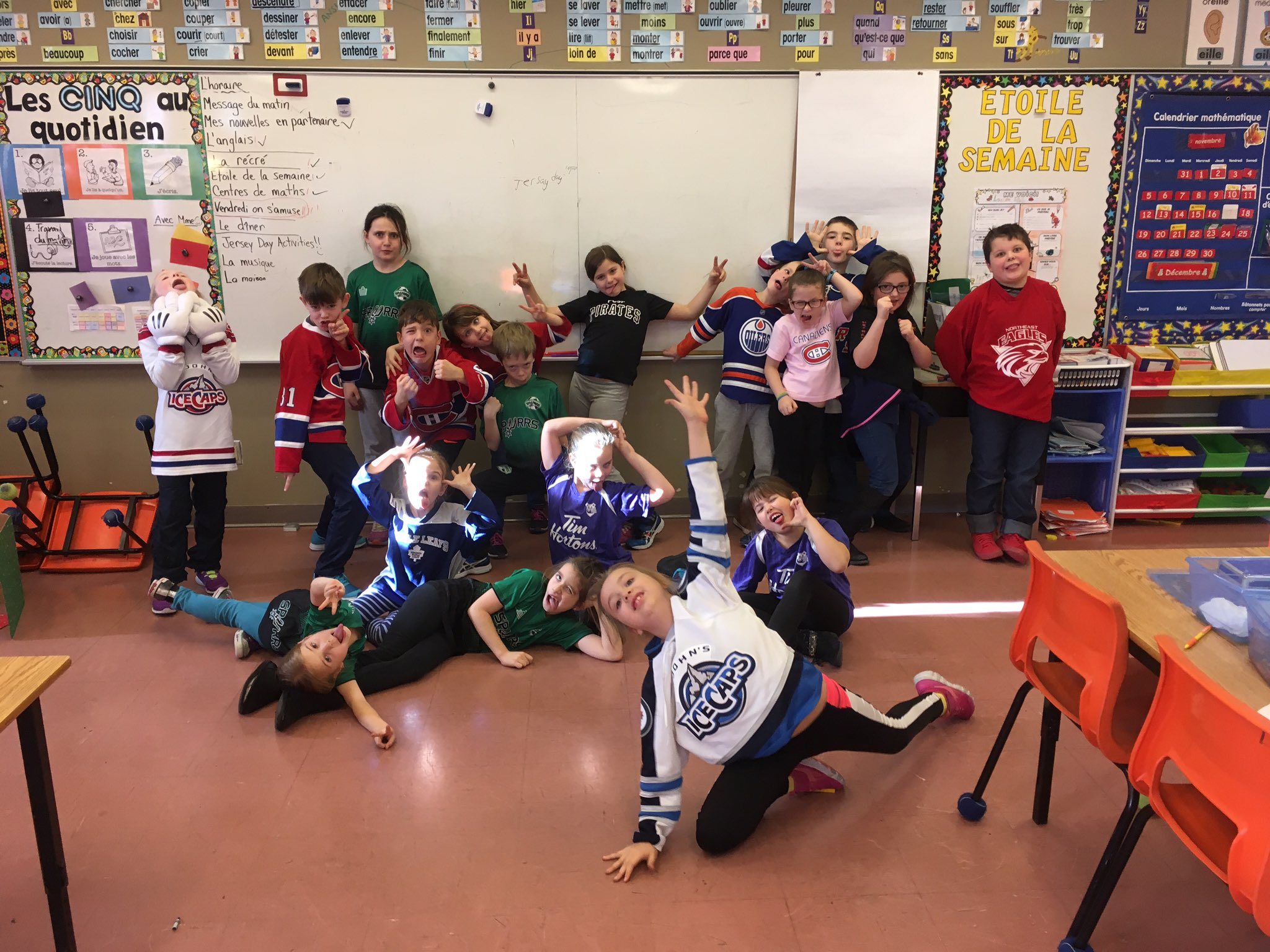 Mme Kennedys Class On Twitter Happy Jersey Day