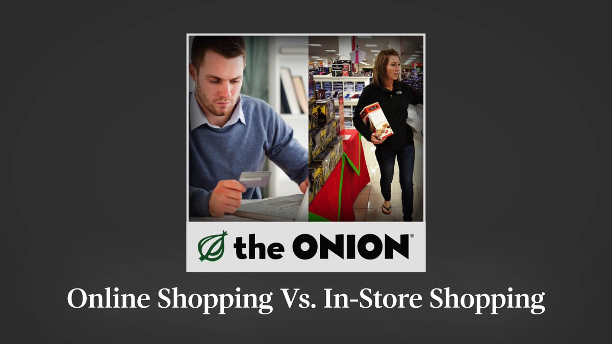 Online vs in store shopping essay