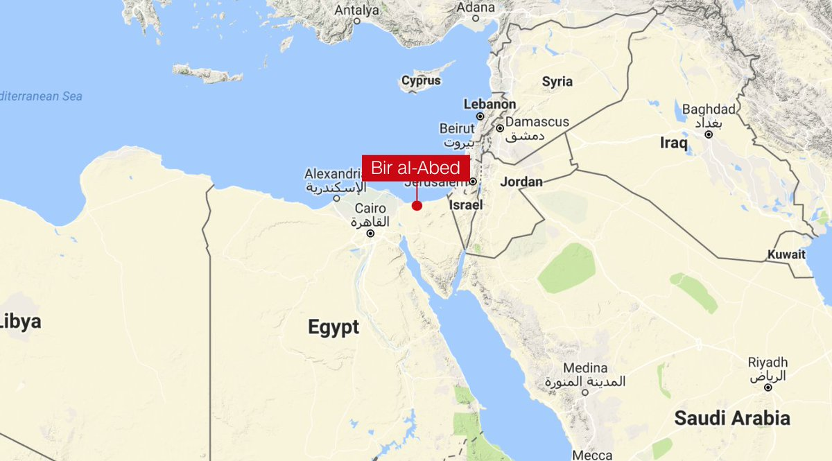 @ianjameslee At least 235 people killed and another 109 injured in the attack on a mosque in Egypt's North Sinai region, state-run reports, making it one of the deadliest attacks ever carried out against civilians in the provincehttps://t.co/IxAIJeWs5m  https://t.co