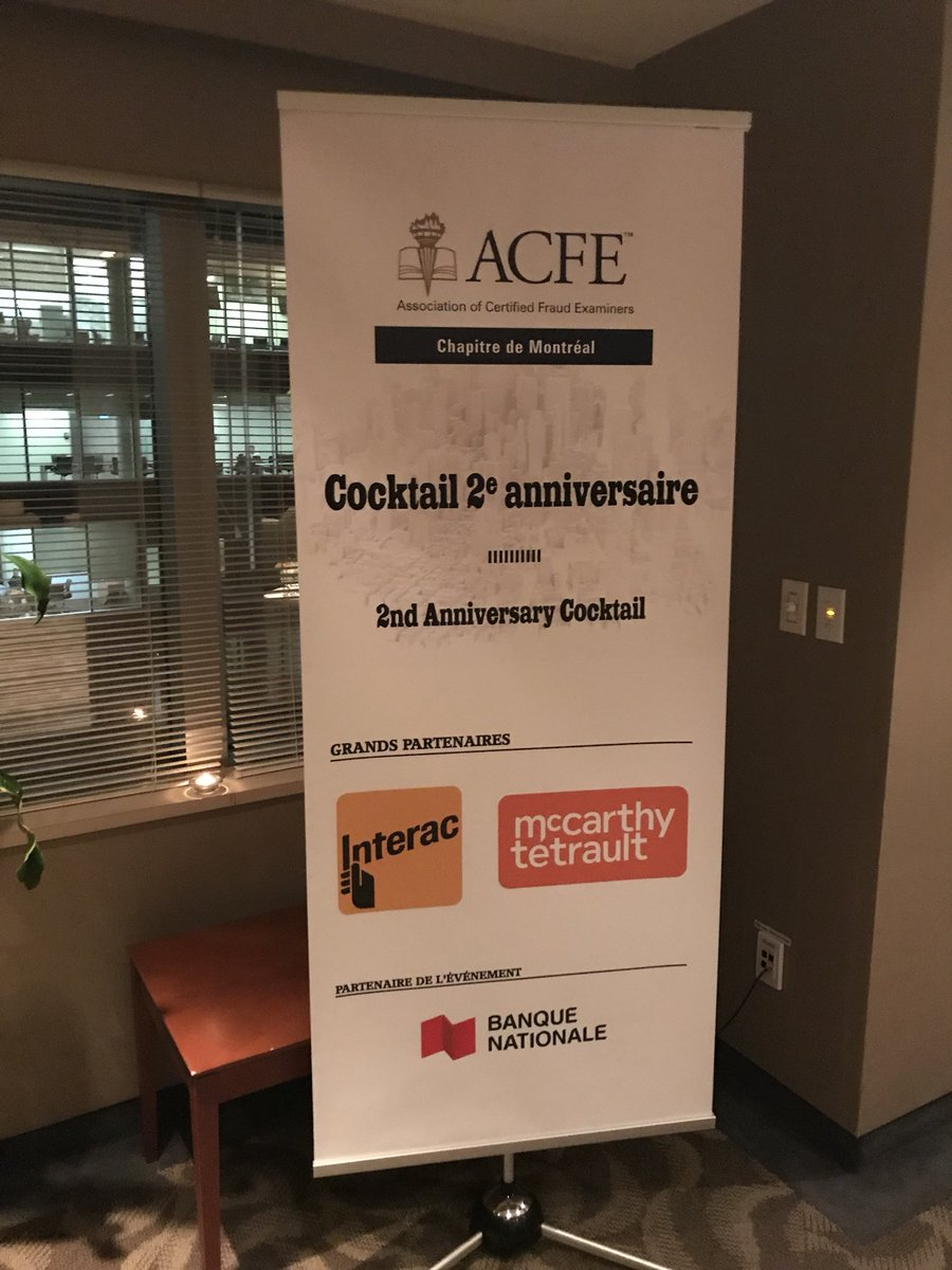 Acfe montreal on twitter great event last night in montreal acfe montreal on twitter great event last night in montreal thank you to our members sponsors and the anti fraud community partners theacfe 1betcityfo Images