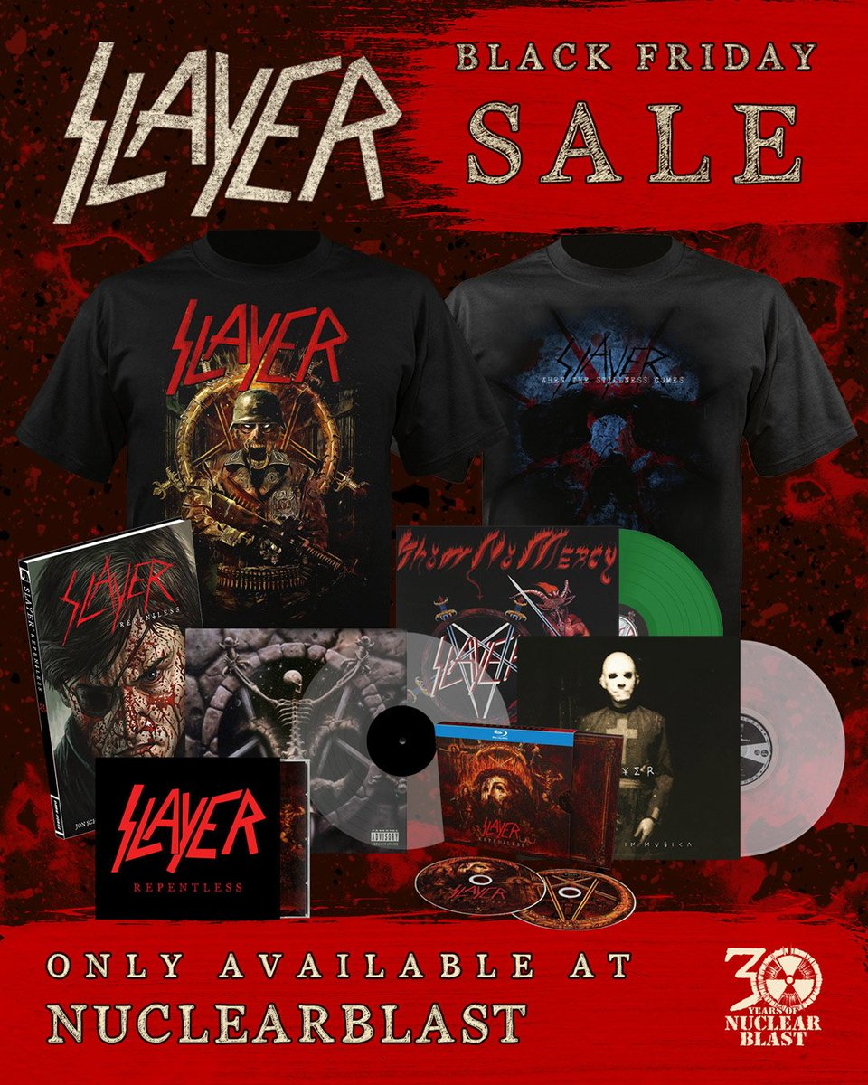 slayer dvd discography